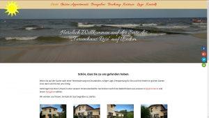 Ferien Urlaub Usedom Ostseebad Kölpinsee Ferienhaus Rose